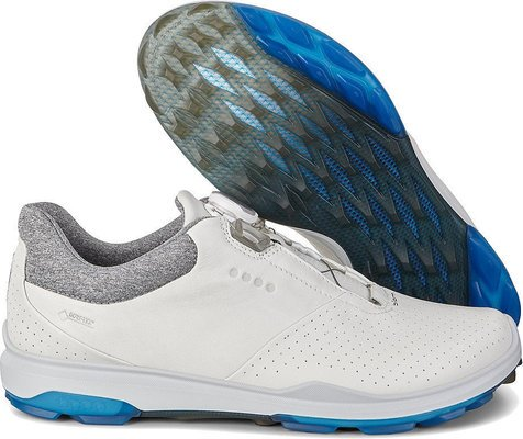 Ecco Biom Hybrid 3 Mens Golf Shoes White/Dynasty 42