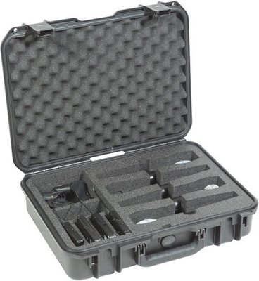 SKB Cases iSeries Waterproof Wireless Four Mic Case Black