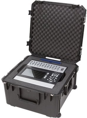 SKB Cases iSeries 3i2222-12QSC iSeries QSC Mixer Case Black