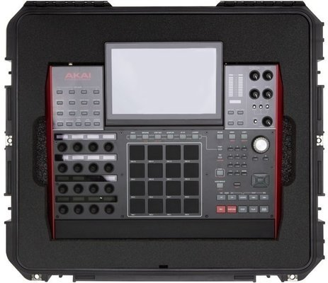 SKB Cases iSeries Injection Molded Case for Akai MPC X Black
