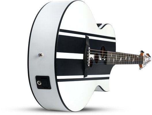 Schecter DJ Ashba Acoustic Satin White