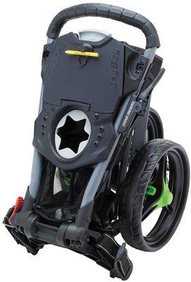 BagBoy Tri Swivel 2.0 Gray/Lime Golf Trolley