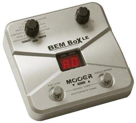 MOOER BEM Box LE Bass Guitar MultiFX Processor