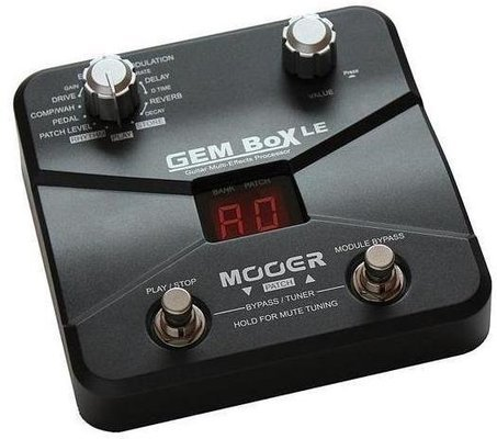 MOOER GEM Box LE Guitar MultiFX Processor