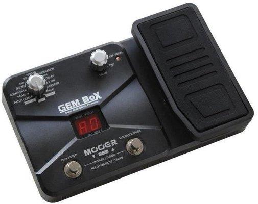 MOOER GEM Box Guitar Multi FX Processor with Pedal