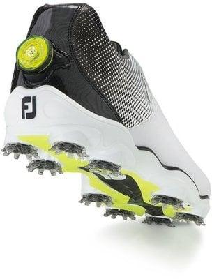 Footjoy DNA Helix BOA Mens Golf Shoes White/Black US 10