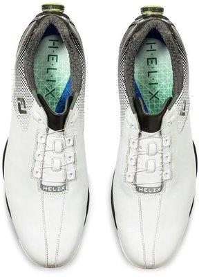 Footjoy DNA Helix BOA Mens Golf Shoes White/Black US 10,5