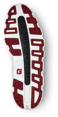 Footjoy Pro SL BOA Mens Golf Shoes White/Black/Red US 12