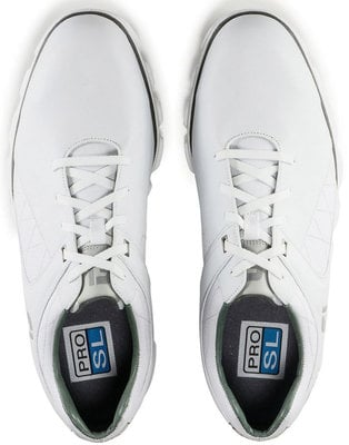 Footjoy Pro SL Mens Golf Shoes White/Silver US 9