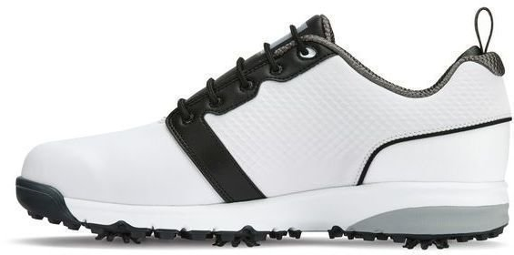 Footjoy Contour Fit Mens Golf Shoes White/White/Black US 10,5