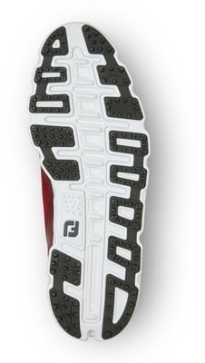 Footjoy Superlites XP Mens Golf Shoes Red/Charcoal US 8,5
