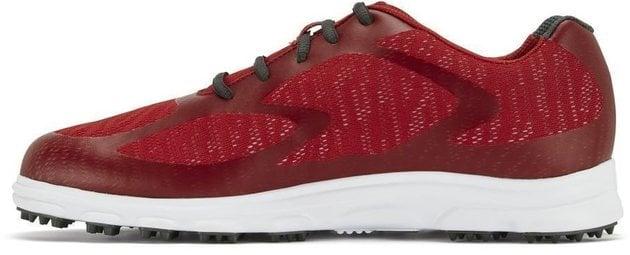 Footjoy Superlites XP Mens Golf Shoes Red/Charcoal US 9