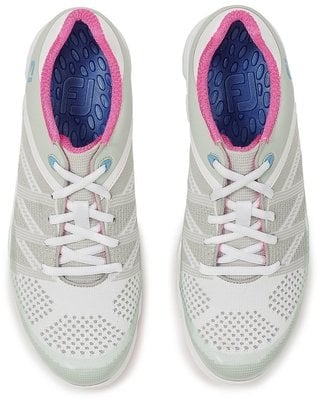Footjoy Sport SL Womens Golf Shoes Light Grey/Berry US 7