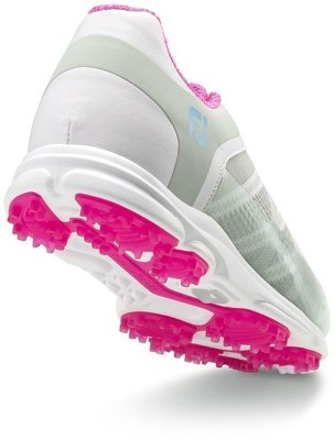 Footjoy Sport SL Womens Golf Shoes Light Grey/Berry US 8,5
