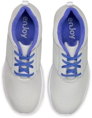 Footjoy Enjoy Womens Golf Shoes Light Grey/Blue US 6,5