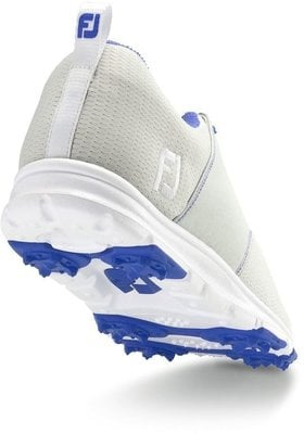 Footjoy Enjoy Womens Golf Shoes Light Grey/Blue US 7,5