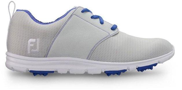 Footjoy Enjoy Womens Golf Shoes Light Grey/Blue US 8