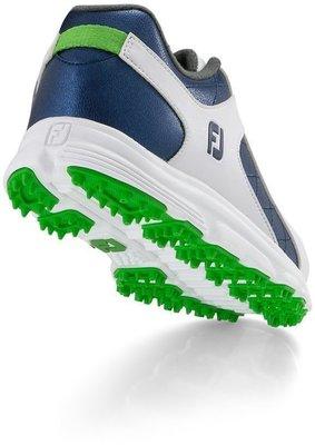 Footjoy Pro SL Junior Golf Shoes White/Blue US 3