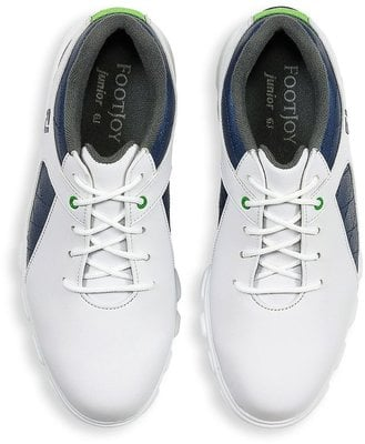 Footjoy Pro SL Junior Golf Shoes White/Blue US 5