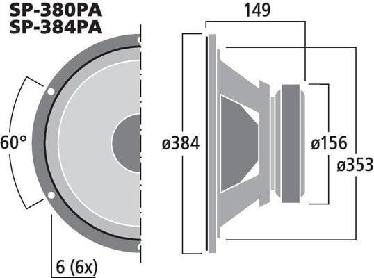 Monacor SP-380PA