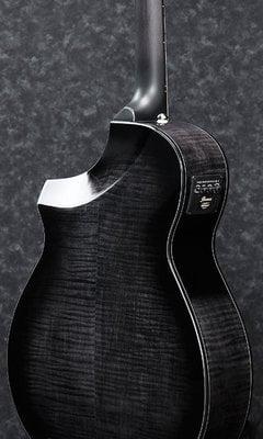 Ibanez AEWC400 Transparent Black Sunburst High Gloss