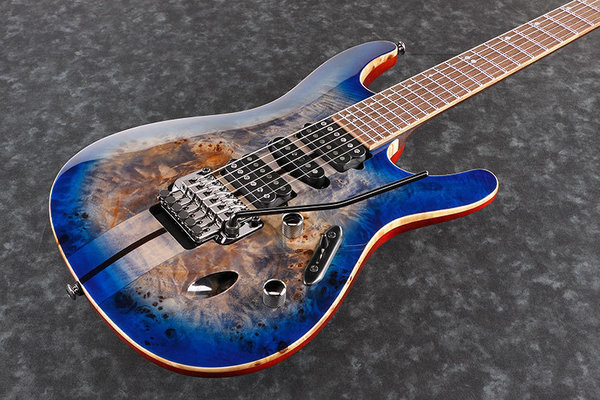 Ibanez S1070PBZ Cerulean Blue Burst
