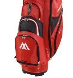 Big max Silencio 2 Red/Black Cart Bag