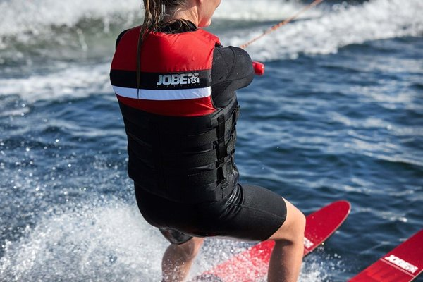 Jobe Allegre Combo Waterskis Red 59''