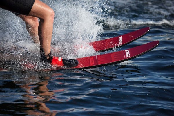 Jobe Allegre Combo Waterskis Red - 67''