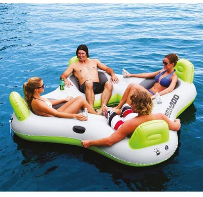 SEA-DOO Inflatable Club Lounge 4 Persons white/green/black