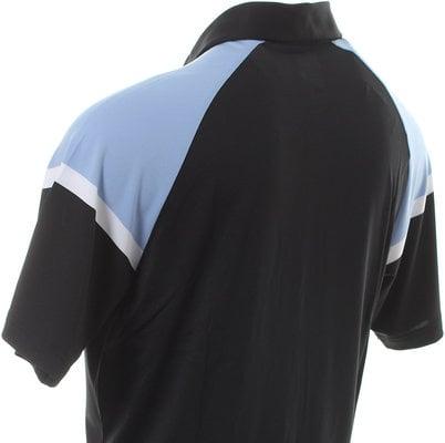 Callaway Blocked Raglan Sleeve Mens Mens Polo Shirt Shirt Caviar S