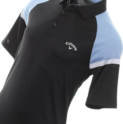 Callaway Blocked Raglan Sleeve Mens Mens Polo Shirt Shirt Caviar XL