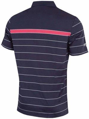 Callaway Sophisticated Stripe Polo Peacoat XXL Mens