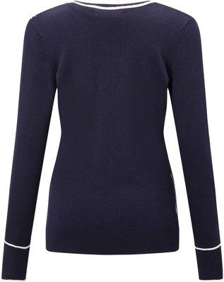 Callaway Jacquard Sweater Peacoat S Womens