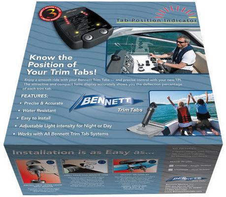 Bennett Trim Tabs Indicator