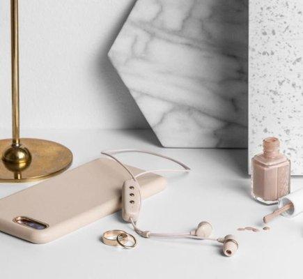 Happy Plugs In-Ear Wireless Nude