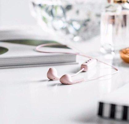 Happy Plugs Earbud Plus Wireless Blush