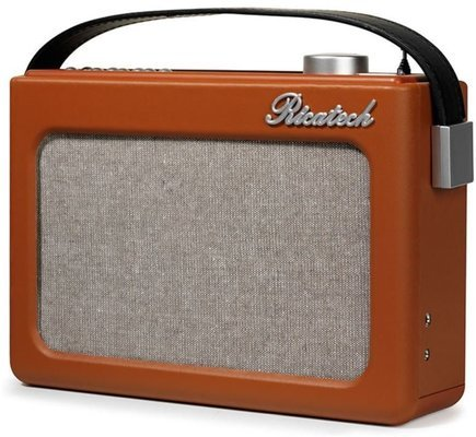 Ricatech PR78 Emmeline Vintage Radio Cognac Brown