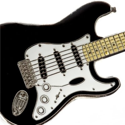 Fender Stratocaster Keychain Black