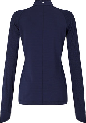Callaway Floral Printed Mock Top Peacoat XS Womens