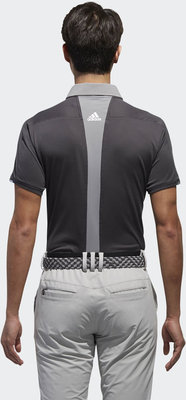 Adidas Climachill Stretch Mens Polo Shirt Carbon /Grey Three L