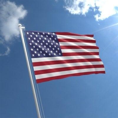 Talamex Bandiera nazionale USA 30x45 cm