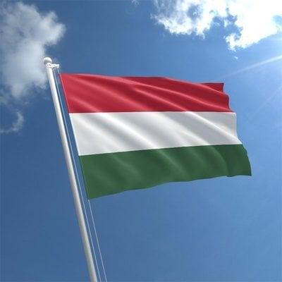 Talamex Flag Hungary 50x75 cm