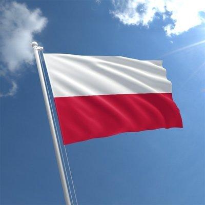 Talamex Bandiera nazionale Poland 30x45 cm