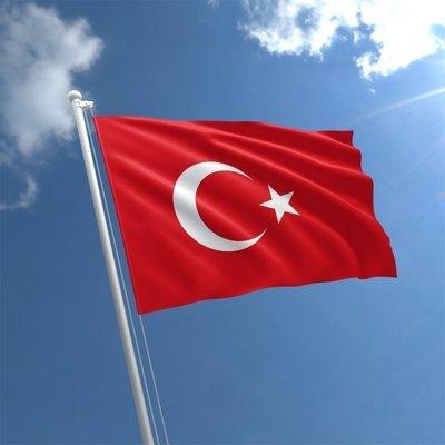 Talamex Flag Turkey 20x30 cm