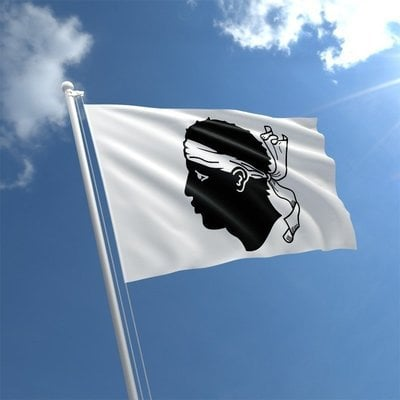 Talamex Národná vlajka - Korzika 30x45cm