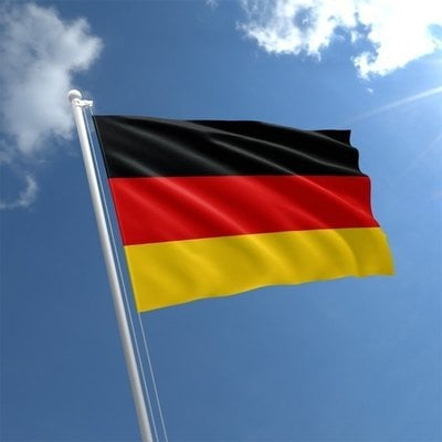 Lindemann Flag Germany 30x45 cm