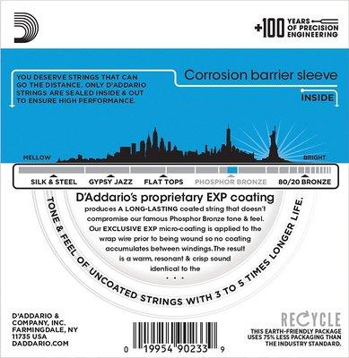 D'Addario EXP16-3D