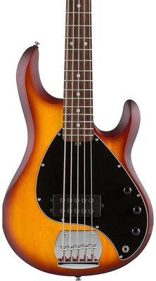 Sterling by MusicMan S.U.B. RAY5 Honeyburst Satin Rosewood