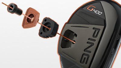 Ping G400 ibrid 17 Standard Alta Cb 70 Stiff destro
